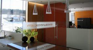 Firma Elmer - Büro innen Eingangsbereich