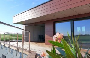 Elmer Holzbau - Terrasse - Hausaufstockung