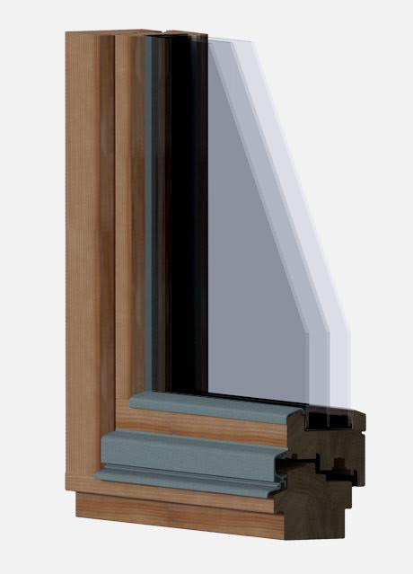 Holzfenster select classic