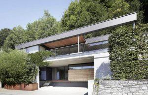 Elmer - Haus am See - Ganzglasfassade