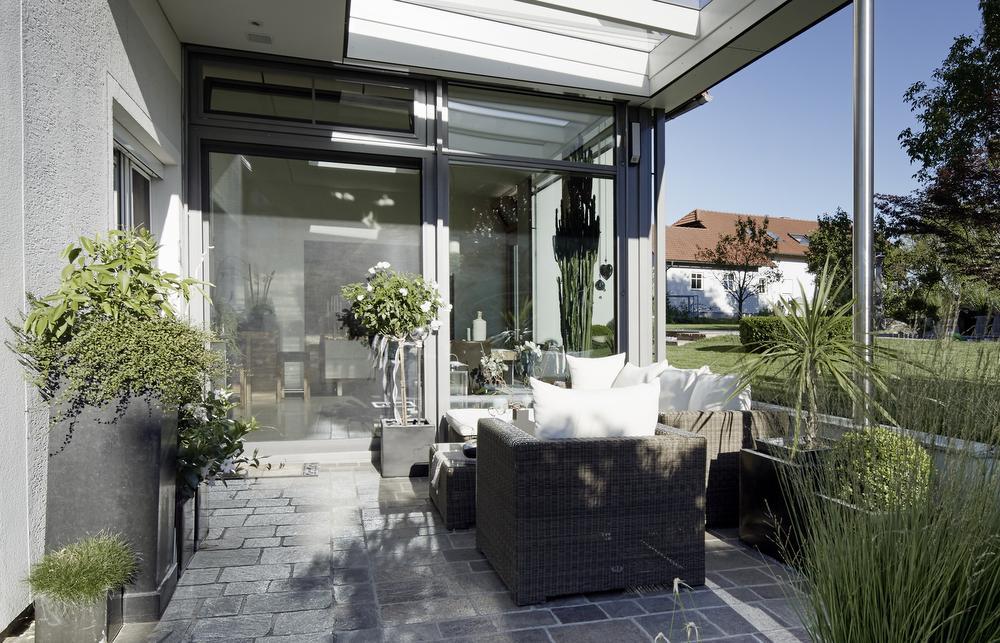 wintergarten holzalufenster hebesschiebet ren elmer o. Black Bedroom Furniture Sets. Home Design Ideas