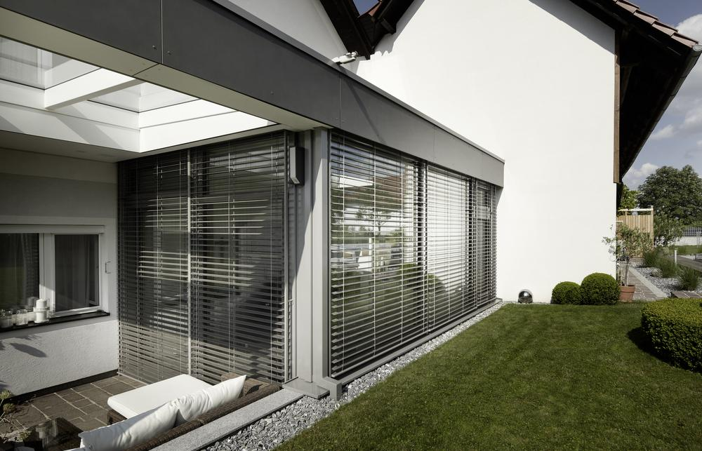 Flachdach Wintergarten wohnbox anbau holz alu höchster wohnkomfort elmer oö