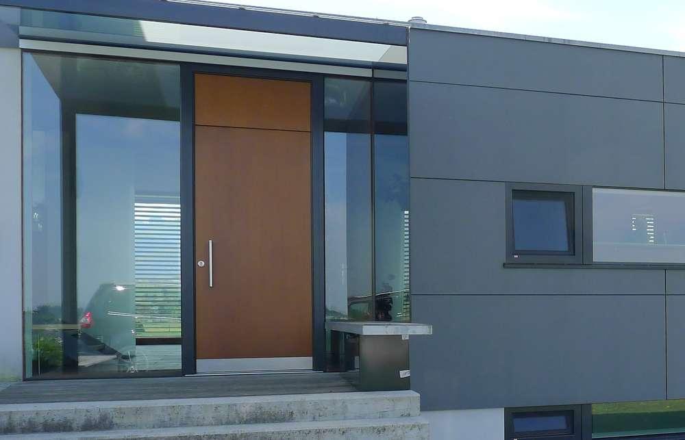 fenster holz alu ganzglas hebeschiebet ren haust ren elmer o. Black Bedroom Furniture Sets. Home Design Ideas