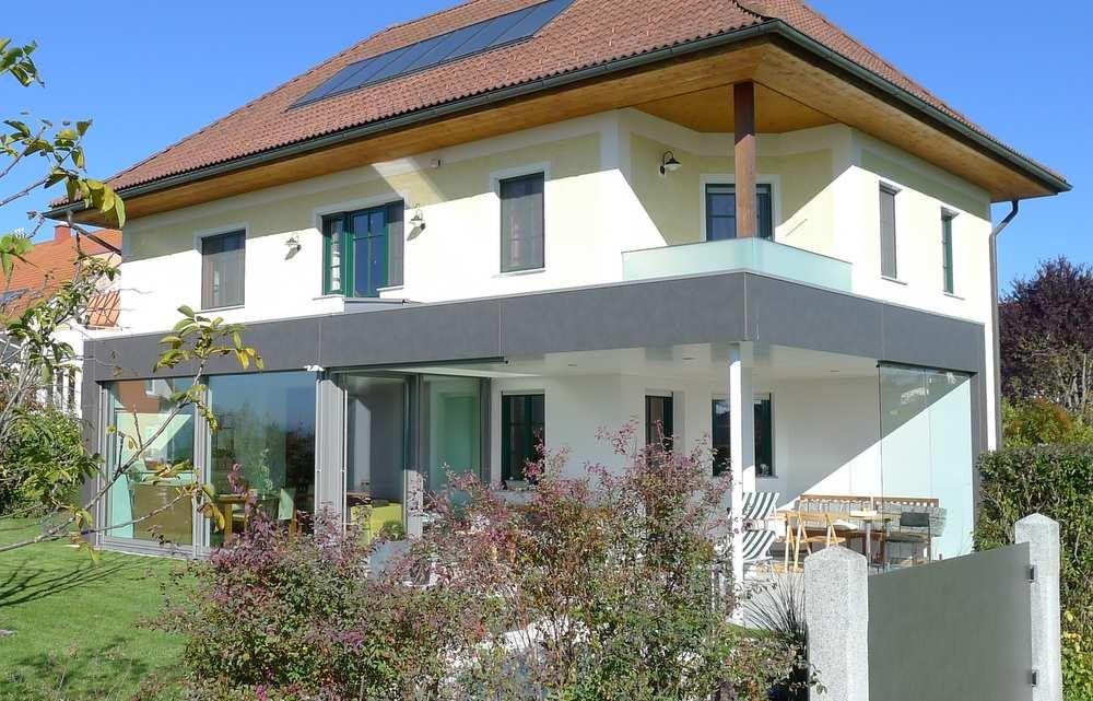 terrassenverbau freisitz ganzglasschiebesysteme elmer o. Black Bedroom Furniture Sets. Home Design Ideas