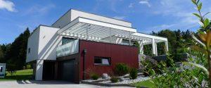 Elmer Freisitz - Terrasssenüberdachung mit Glas