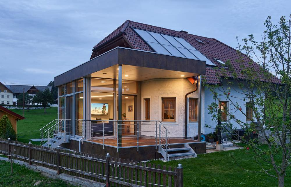 Wohnbox Anbau Holz Alu Hochster Wohnkomfort Elmer Oo