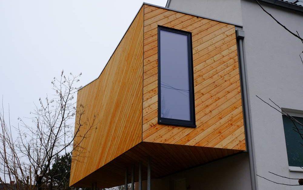 Elmer Wohnbox Kinderzimmer mit Diagonalschalung