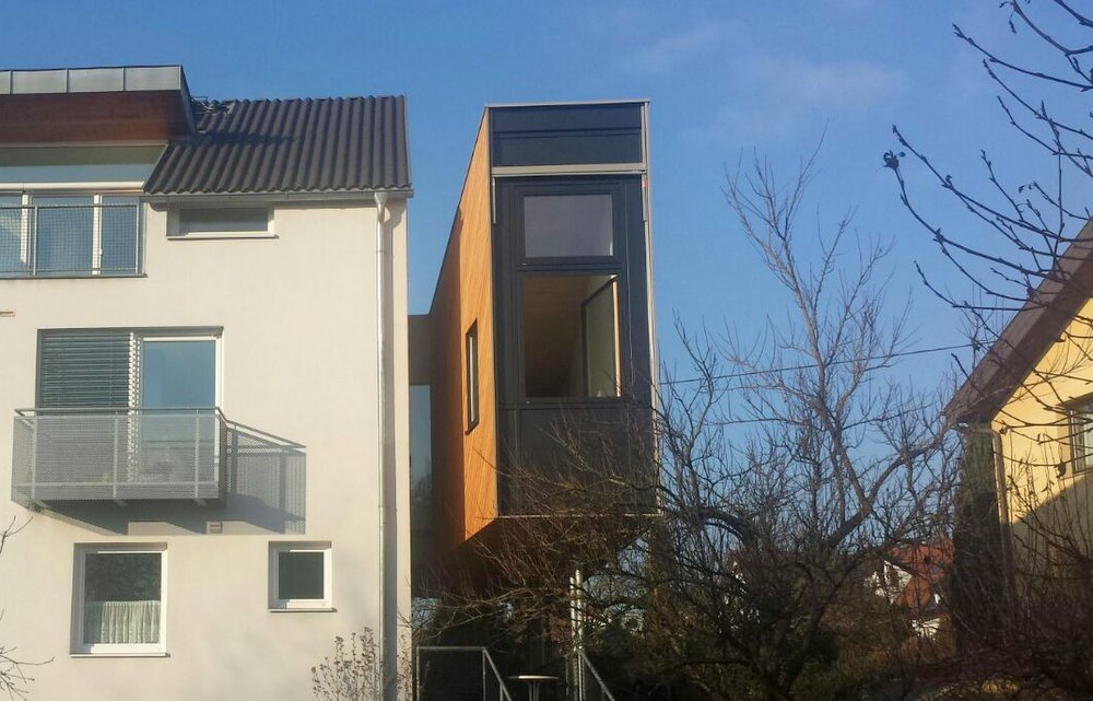 Elmer Holzbau Wohnbox Lärche